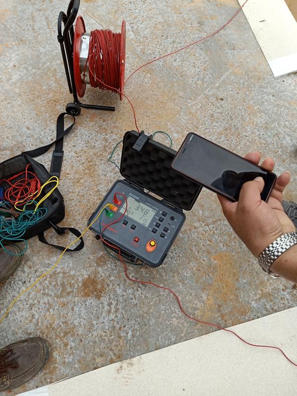 防雷电阻检测