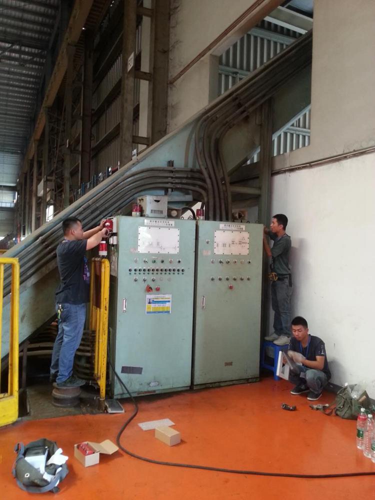 汽车制造厂设备安装防